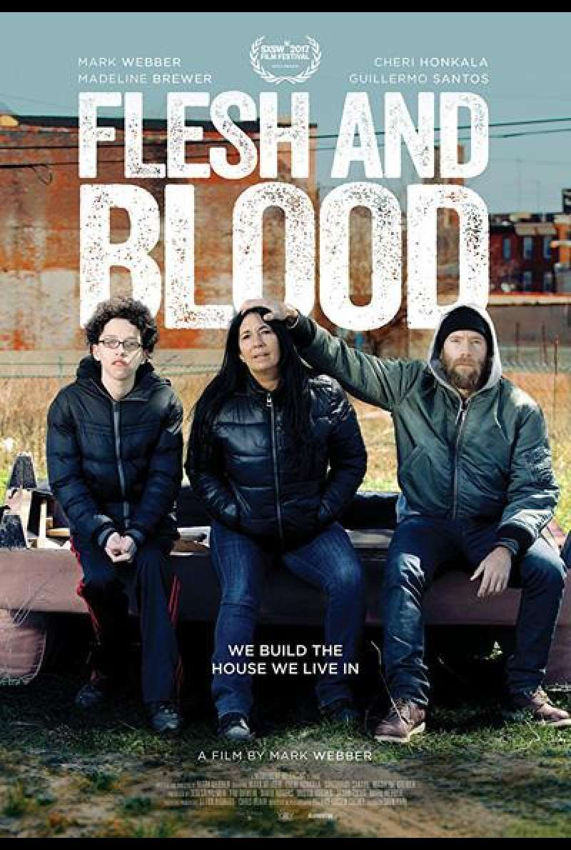 Flesh and Blood von Mark Webber - Filmplakat
