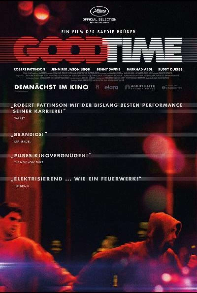 Good Time - Filmplakat