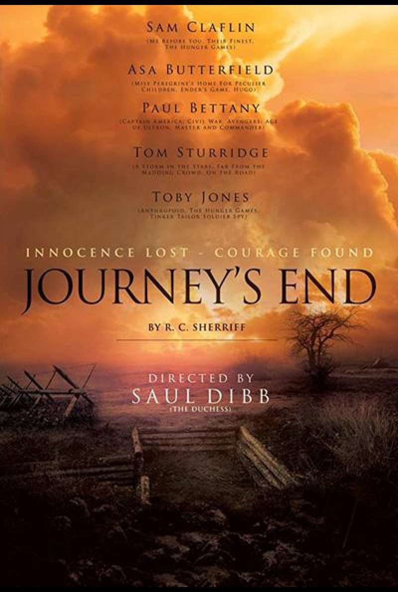 Journey's End von Saul Dibb - Filmplakat