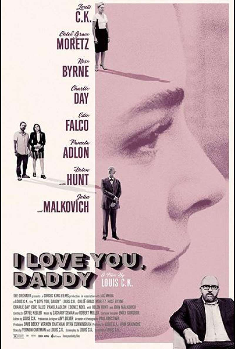 I Love You, Daddy von Louis C.K. - Filmplakat
