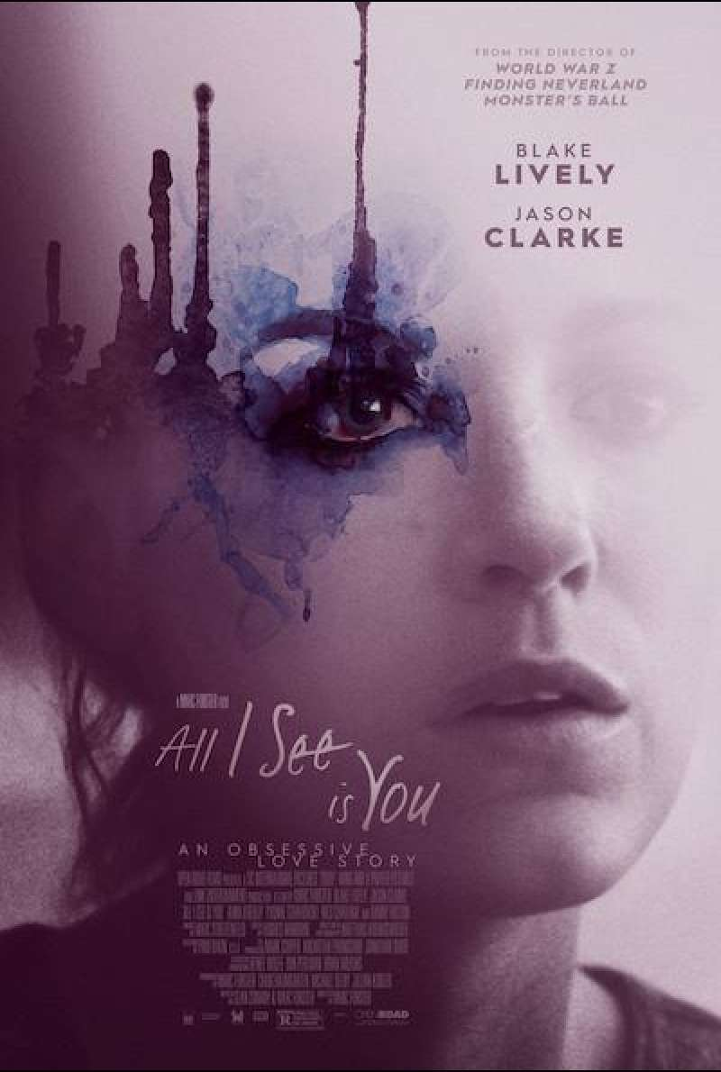 All I See Is You - Filmplakat (US)