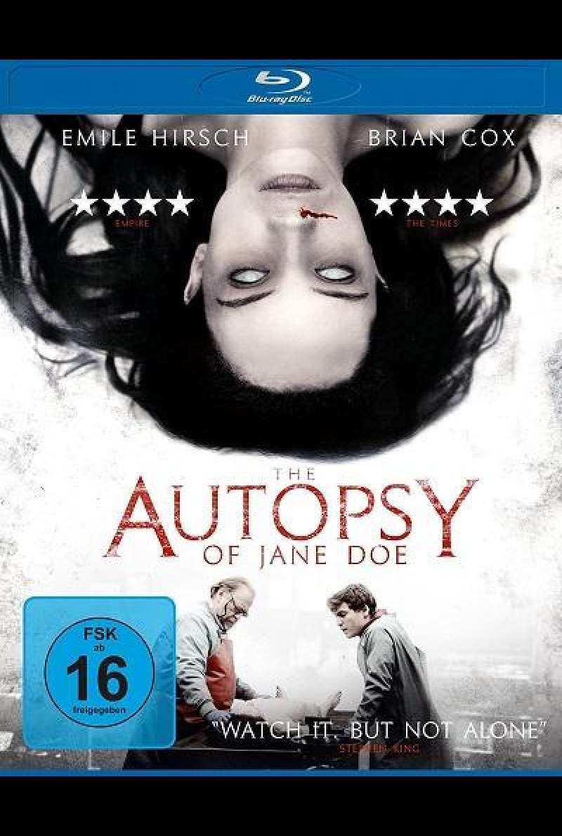 The Autopsy of Jane Doe - Blu-ray-Cover
