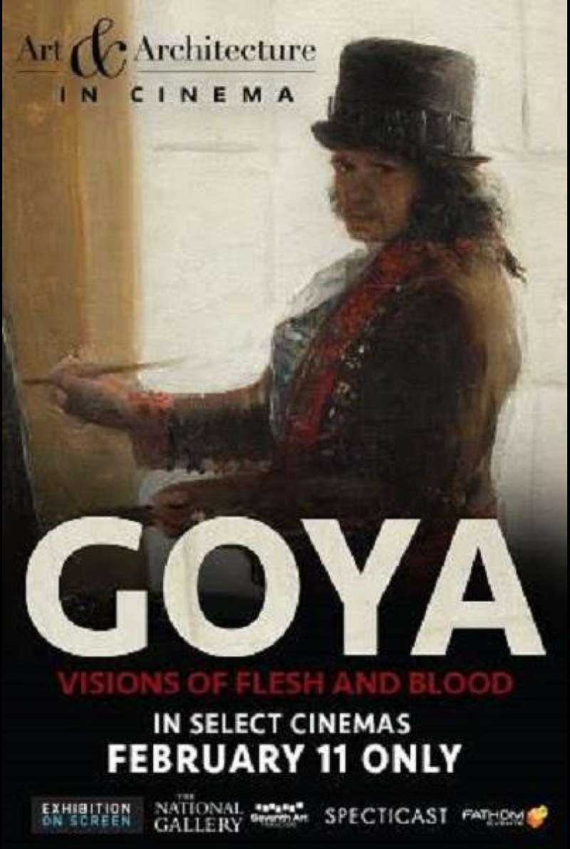 Exhibition on Screen: Goya - Visions of Flesh and Blood - Plakat (INT)