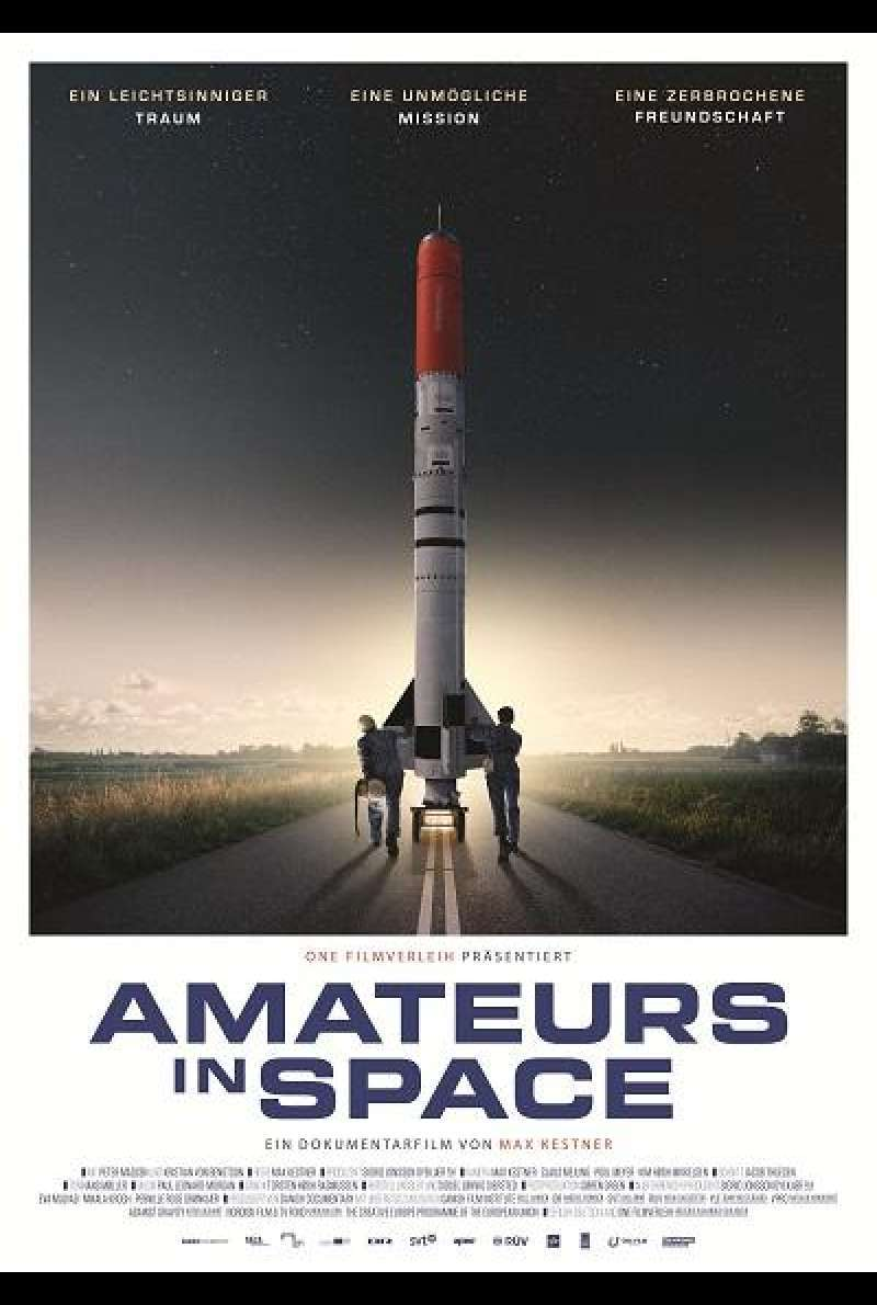 Amateurs in Space - Filmplakat