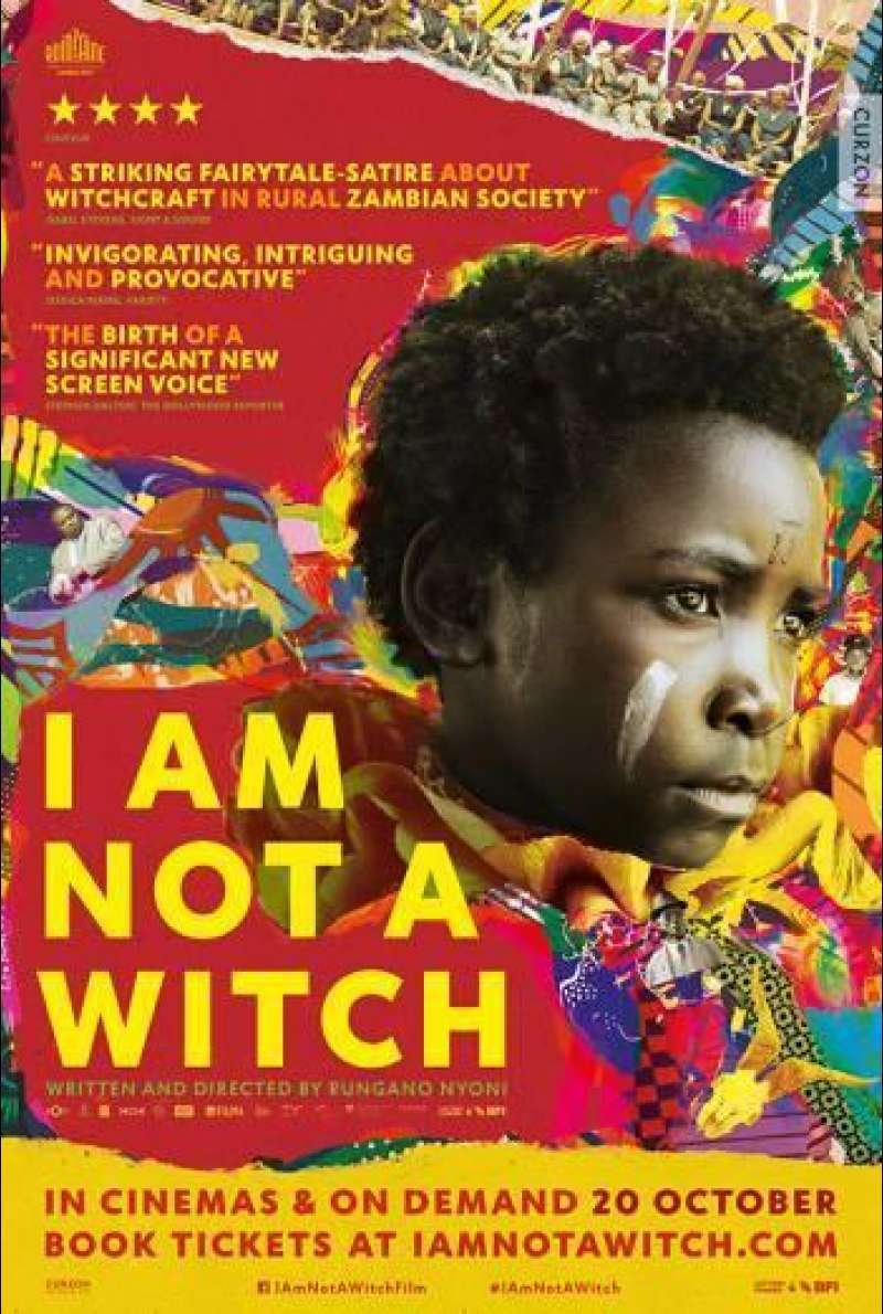 I Am Not a Witch - Filmplakat (UK)