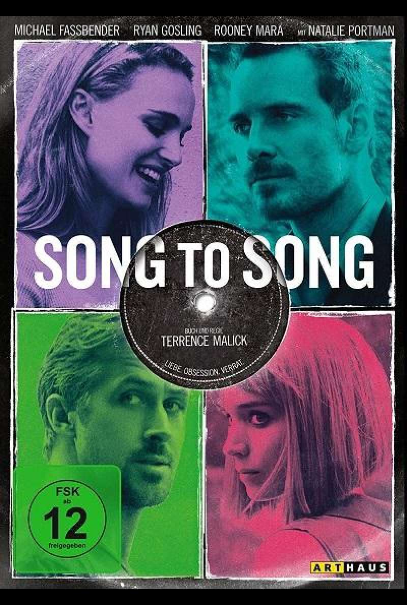 Song to Song - DVD-Cover