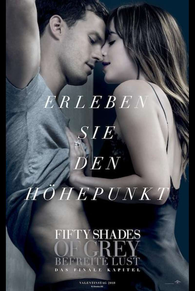 Fifty Shades of Grey 3 - Befreite Lust - Filmplakat