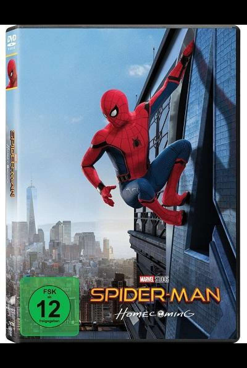 Spider-Man Homecoming - DVD-Cover