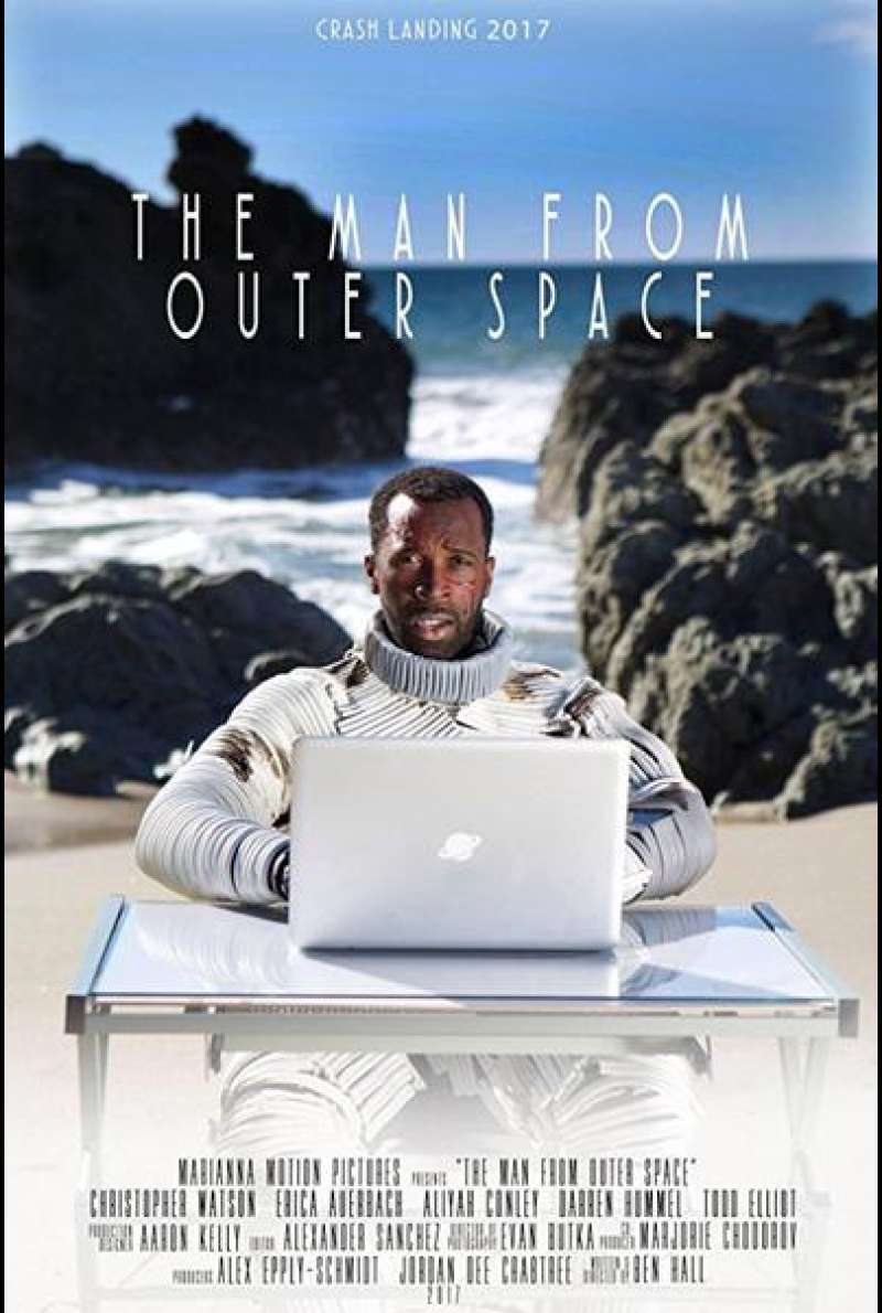 The Man from Outer Space von Ben Hall - Filmplakat