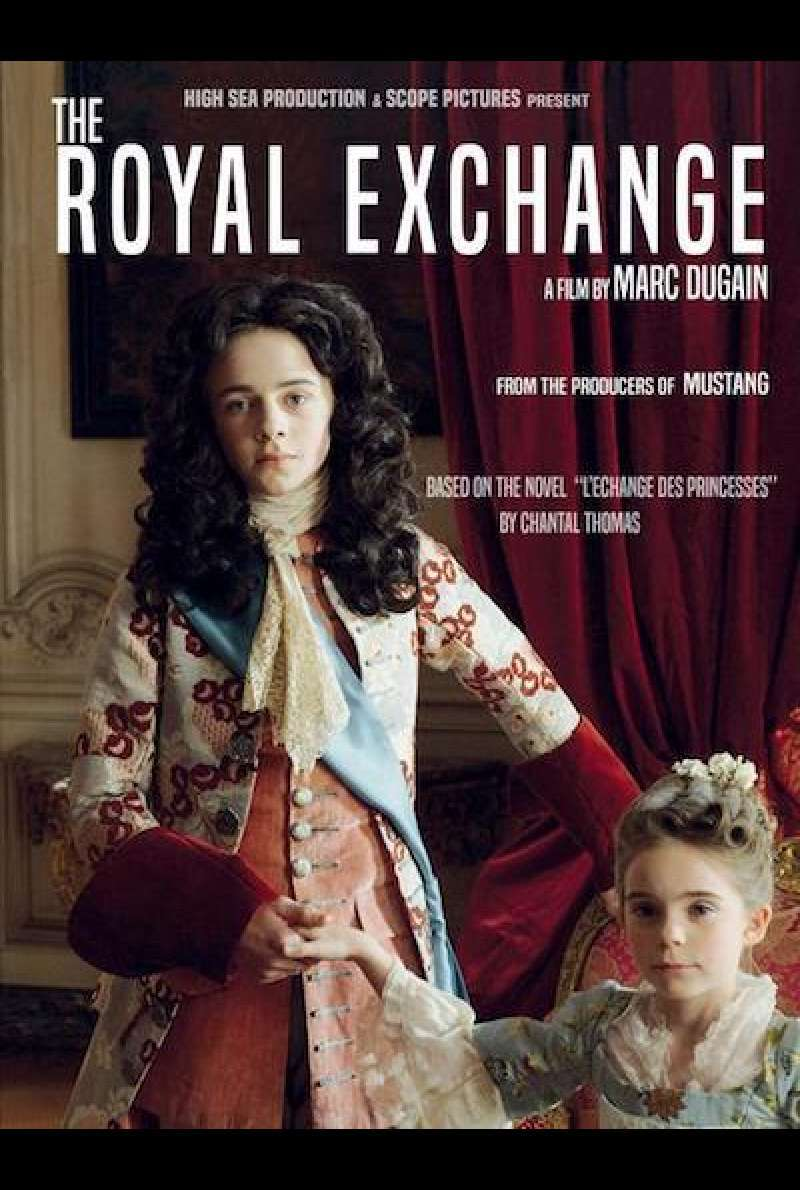 L'échange des princesses / The Royal Exchange - Filmplakat (INT)