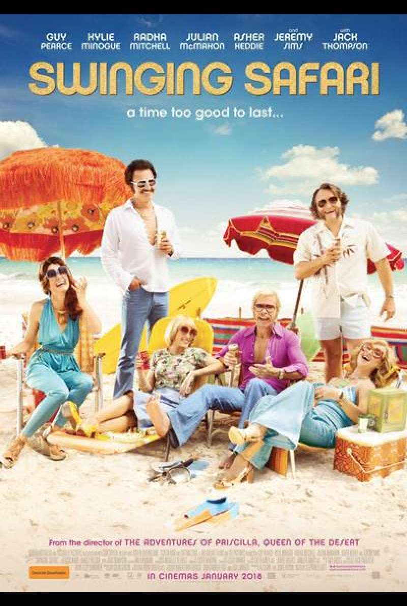 Swinging Safari von Stephan Elliott - Filmplakat