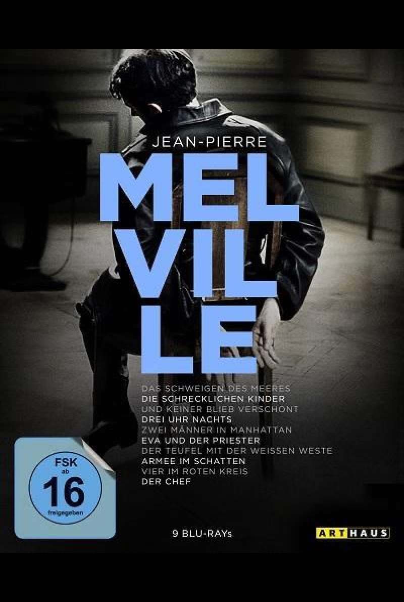 Jean-Pierre Melville 100th Anniversary Edition - Blu-ray-Cover