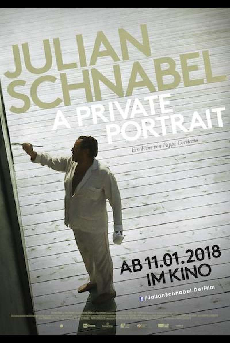 Julian Schnabel: A Private Portrait - Filmplakat