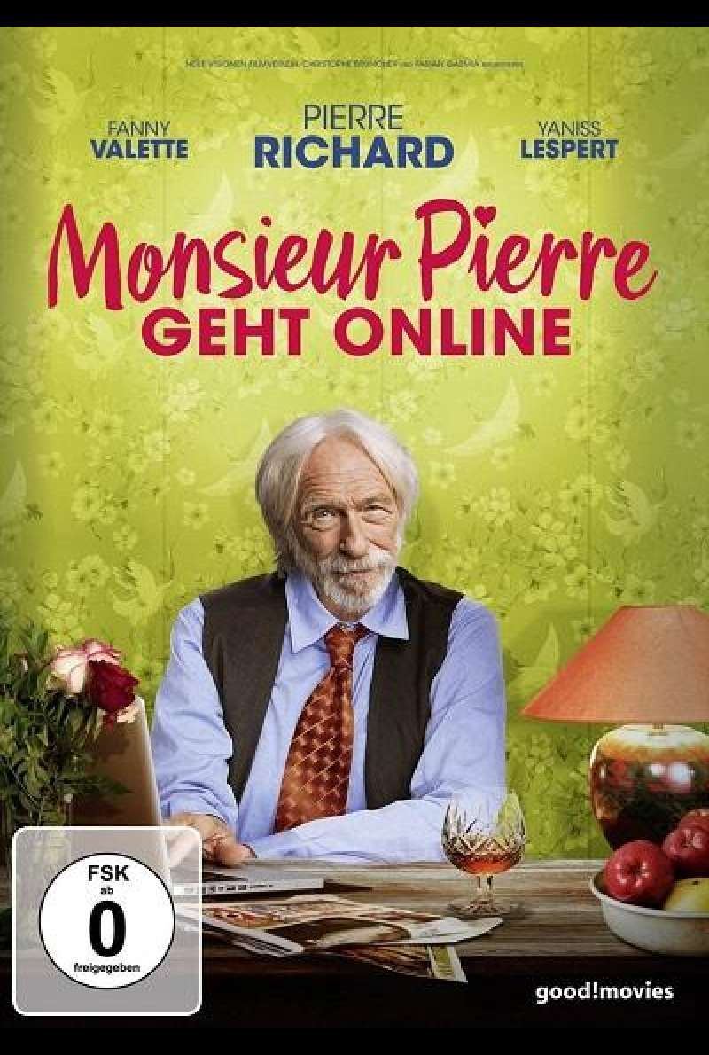 Monsieur Pierre geht online - DVD-Cover