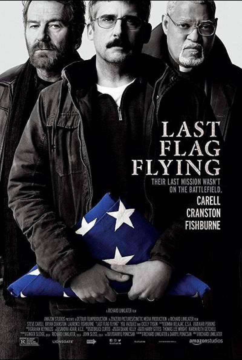 Last Flag Flying - Filmplakat (US)