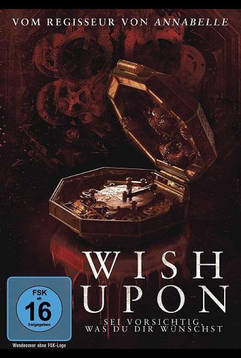 Wish Upon - DVD-Cover