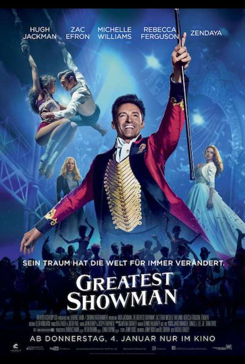 Greatest Showman - Filmplakat 2