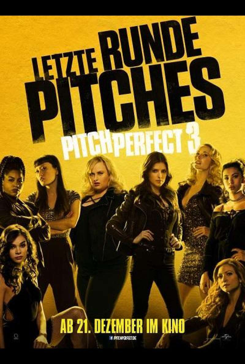 Pitch Perfect 3 - Filmplakat