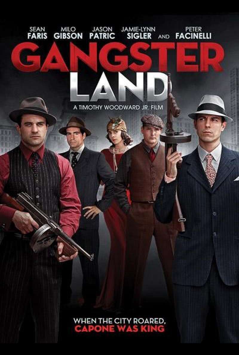 Gangster Land von Timothy Woodward Jr. - Filmplakat