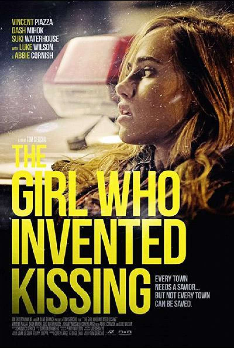 The Girl Who Invented Kissing von Tom Sierchio - Filmplakat