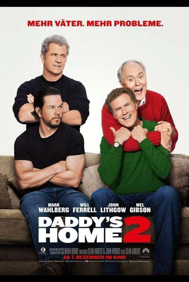 Daddy's Home 2 - Filmplakat