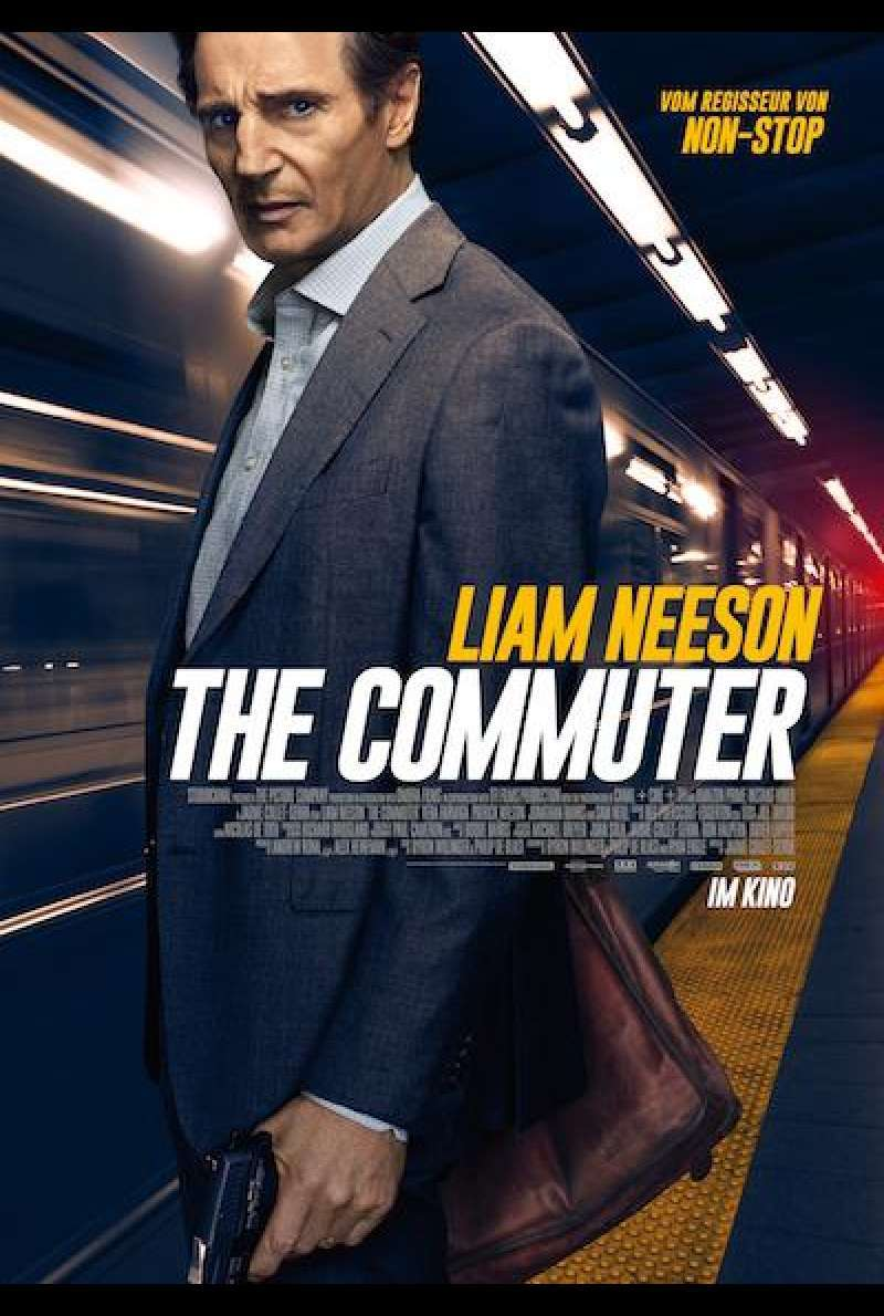 The Commuter von Jaume Collet-Serra - Filmplakat
