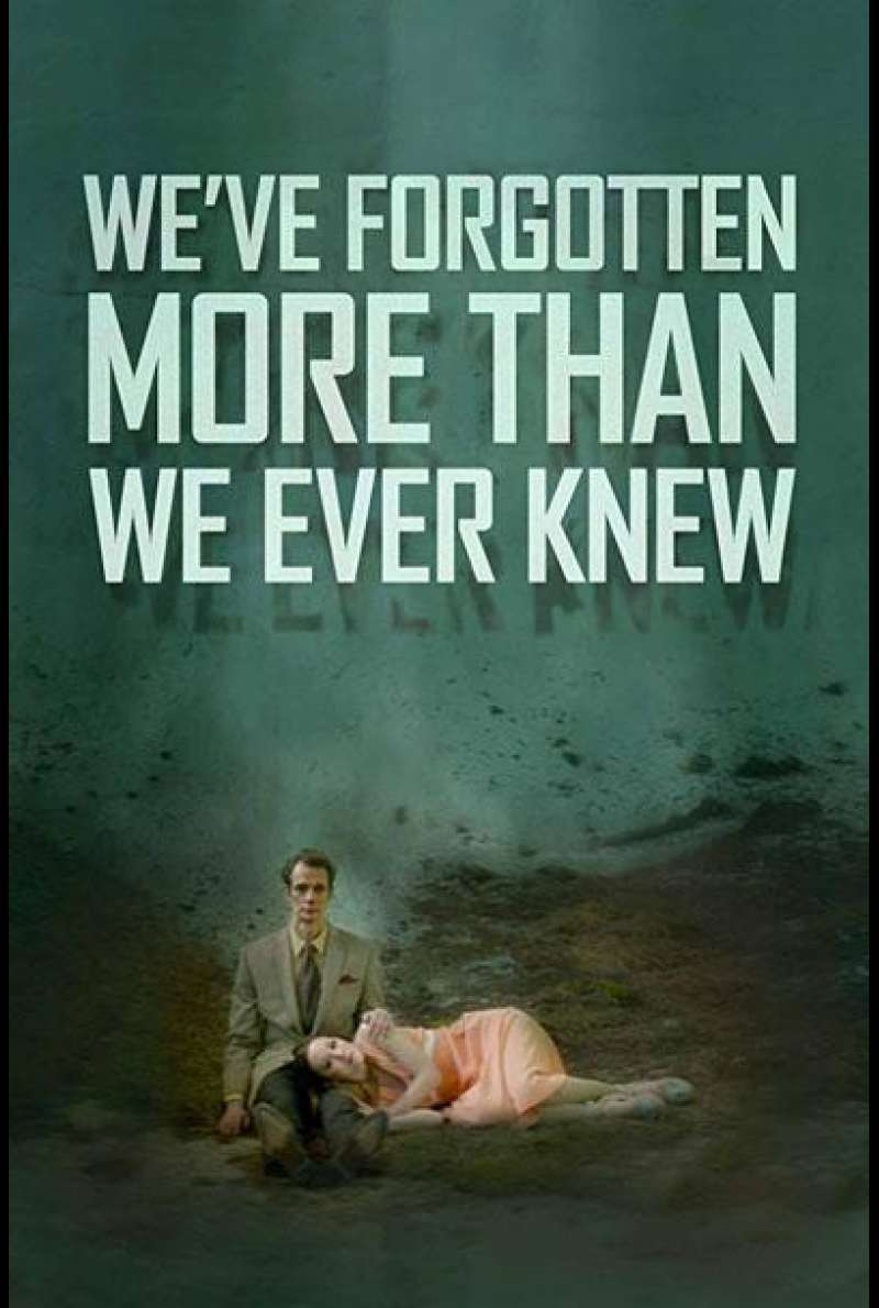 We've Forgotten More Than We Ever Knew von Thomas Woodrow - Filmplakat (US)