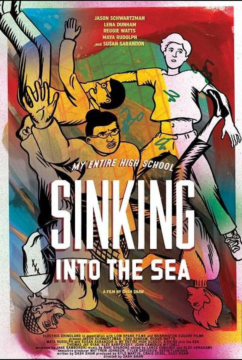 My Entire High School Sinking Into the Sea - Filmplakat (US)