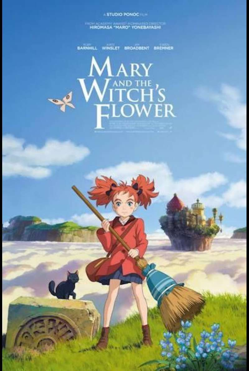 Mary and the Witch's Flower - Filmplakat (INT)