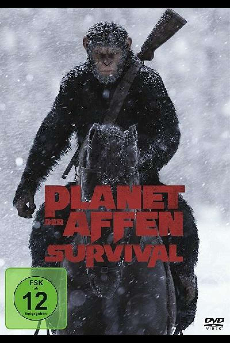 Planet der Affen: Survival - DVD-Cover