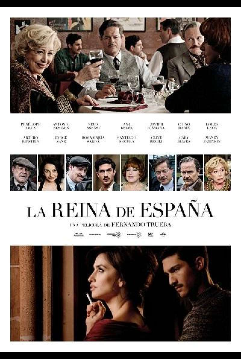 The Queen of Spain - Filmplakat (ES)