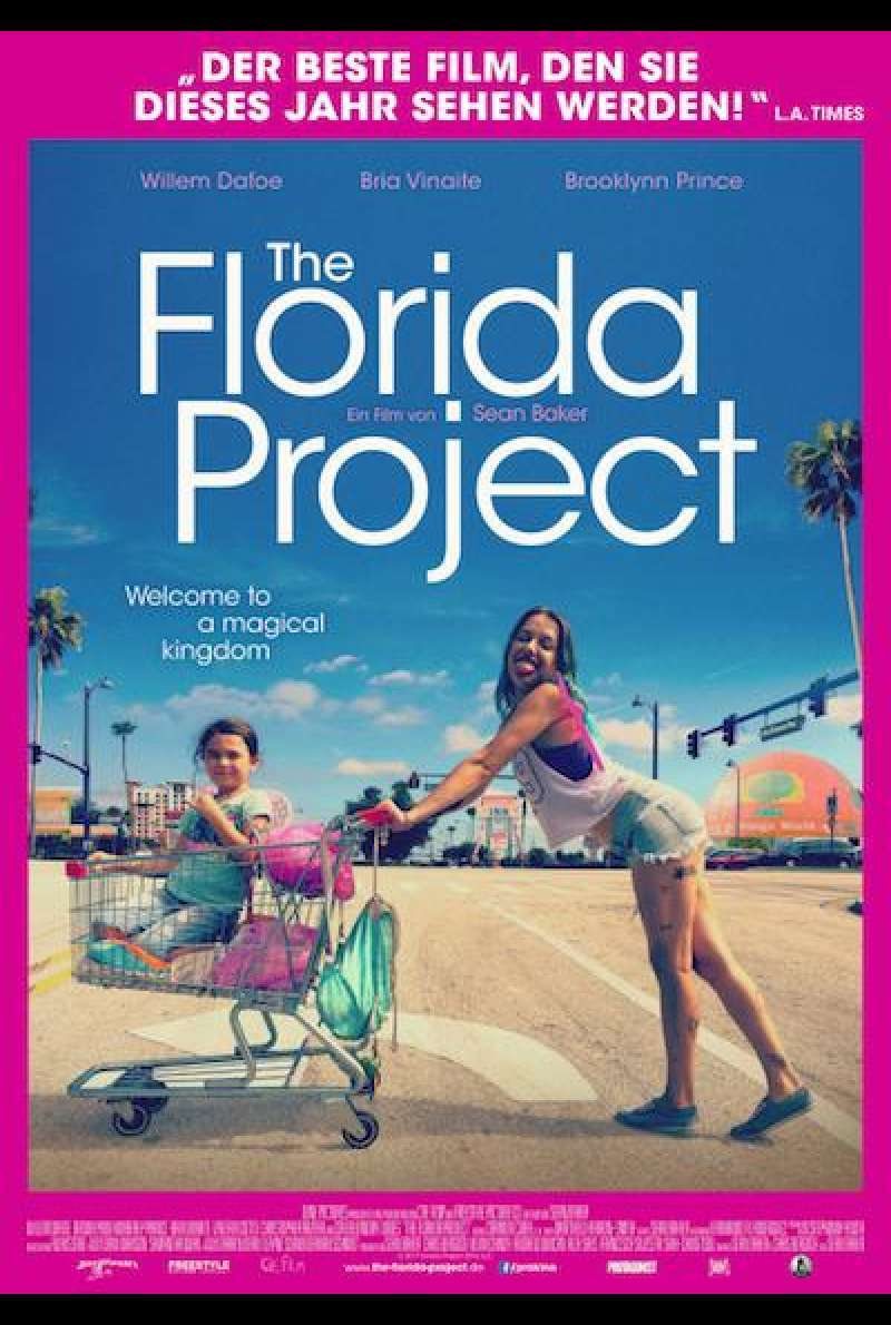 The Florida Project von Sean Baker - Filmplakat