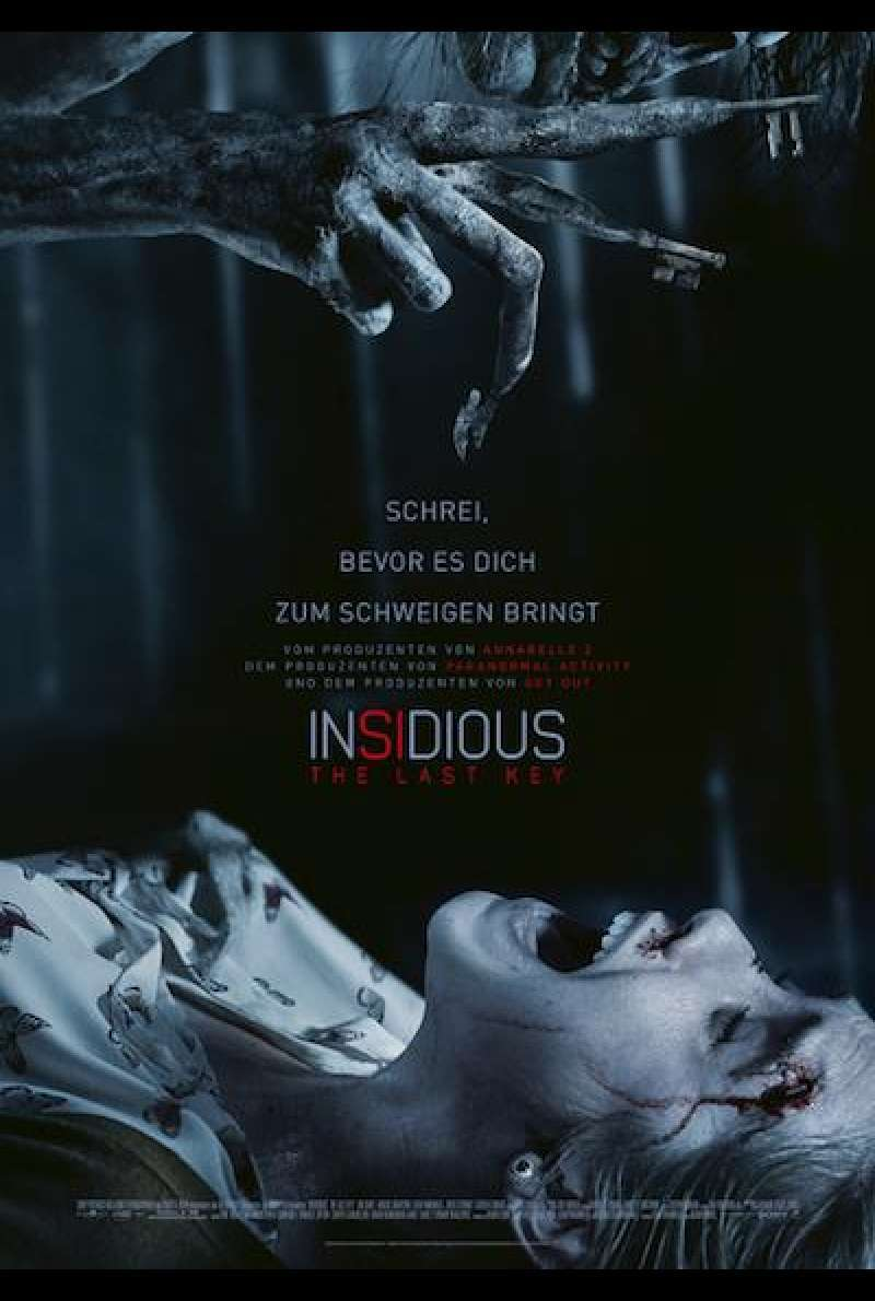 Insidious - The Last Key - Filmplakat