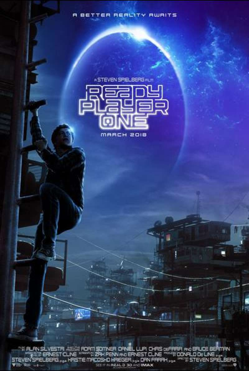 Ready Player One von Steven Spielberg - Teaserplakat