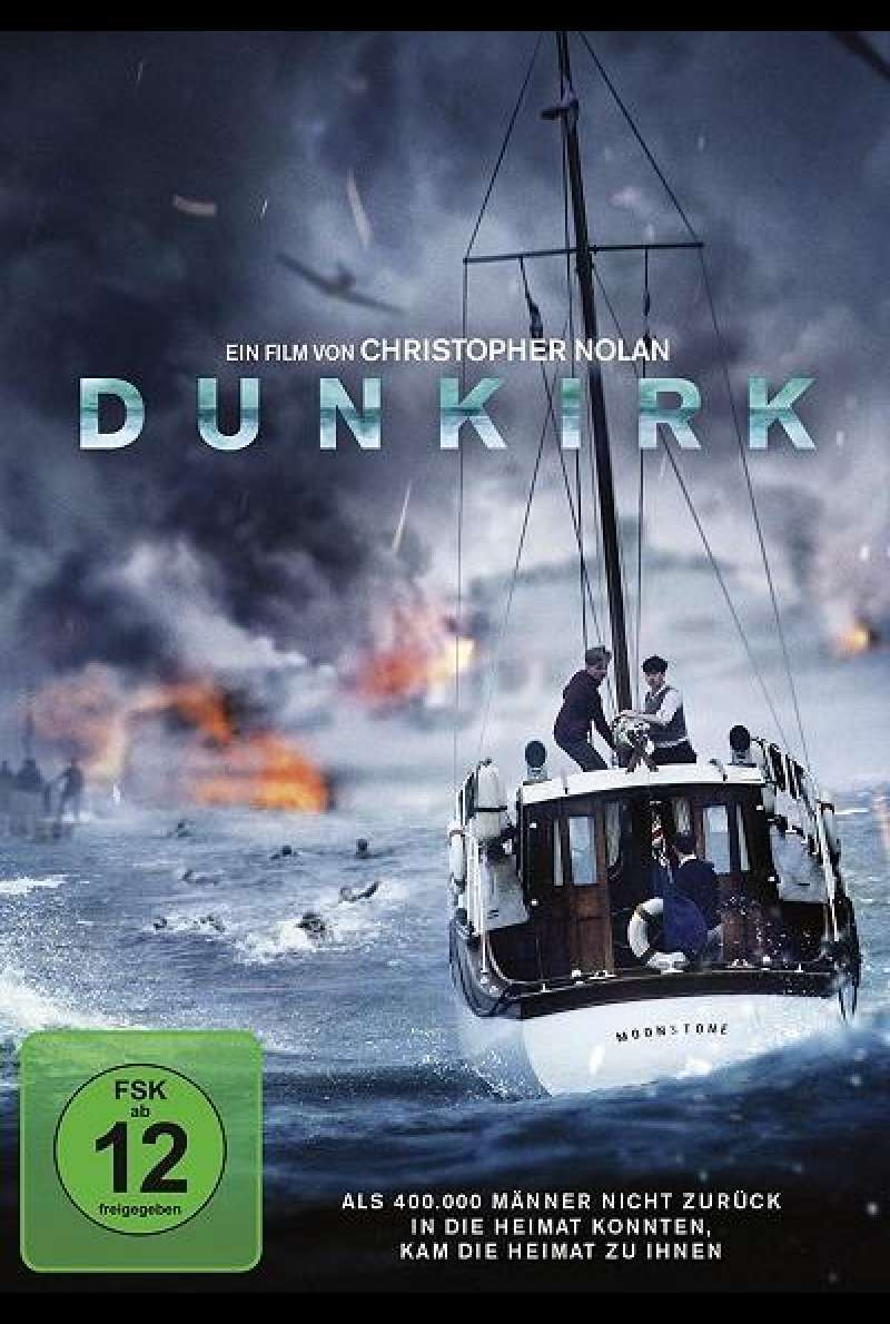 Dunkirk - DVD-Cover