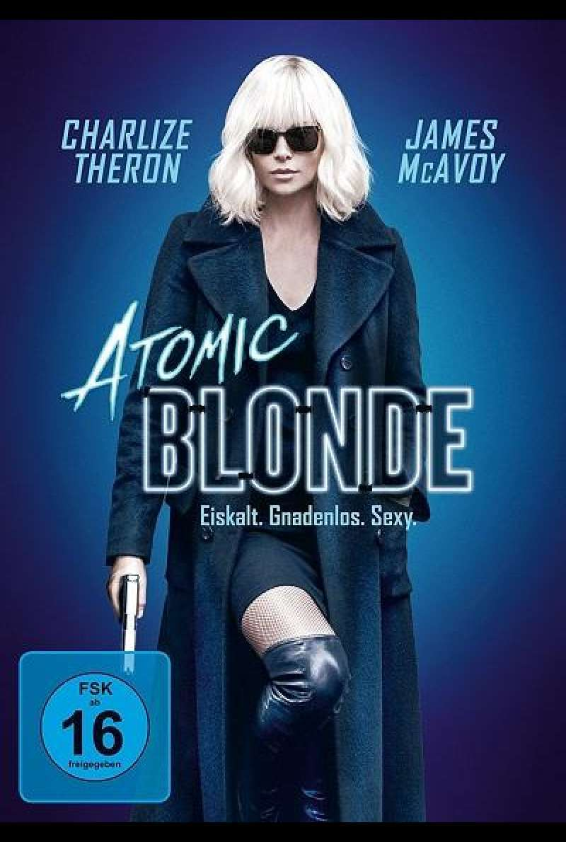 Atomic Blonde - DVD-Cover