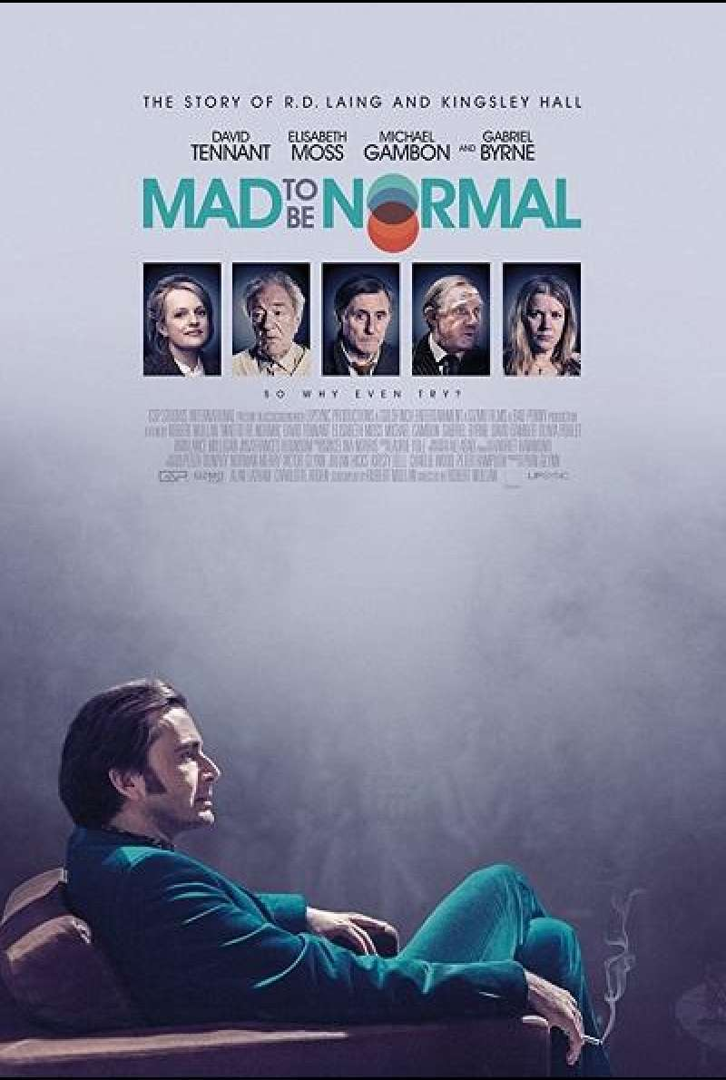 Mad to Be Normal - Filmplakat (UK)