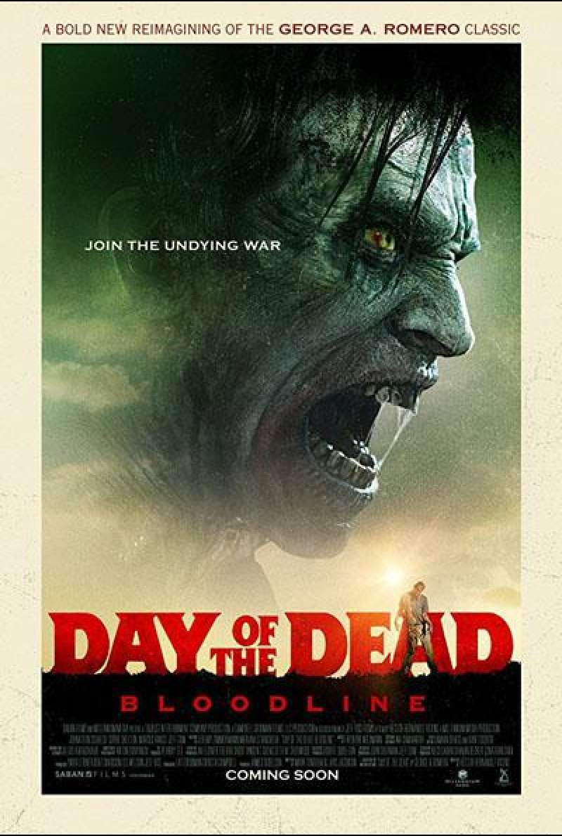 Day of the Dead: Bloodline von Hèctor Hernández Vicens und Pearry Reginald Teo - Filmplakat (INT)