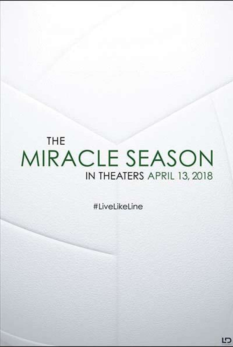 The Miracle Season von Sean McNamara - Teaserplakat (US)