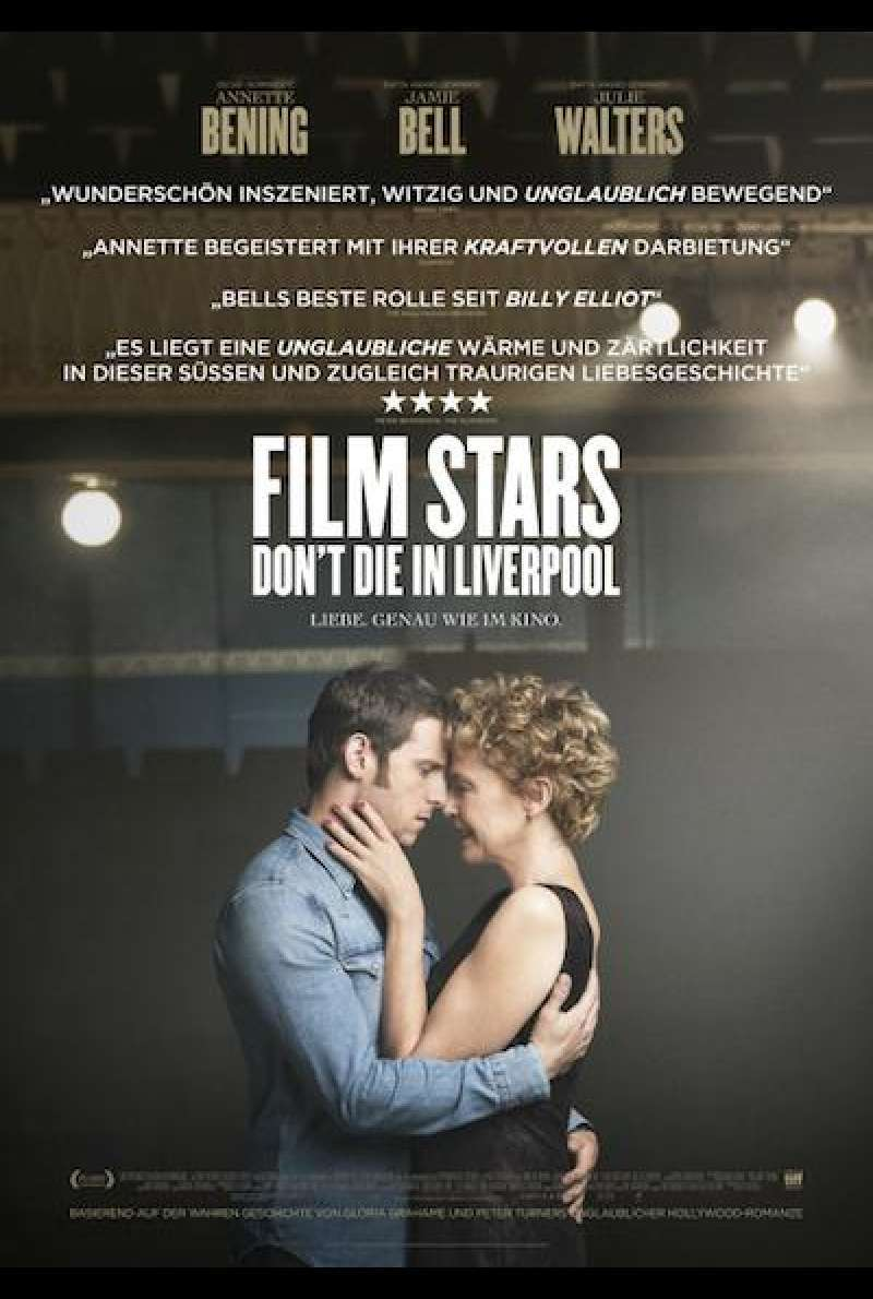 Film Stars Don't Die in Liverpool von Paul McGuigan - Filmplakat