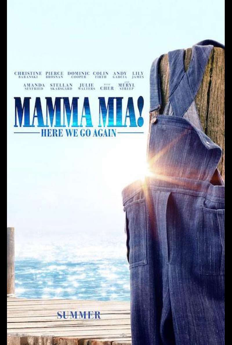 Mamma Mia! Here We Go Again - Teaserplakat