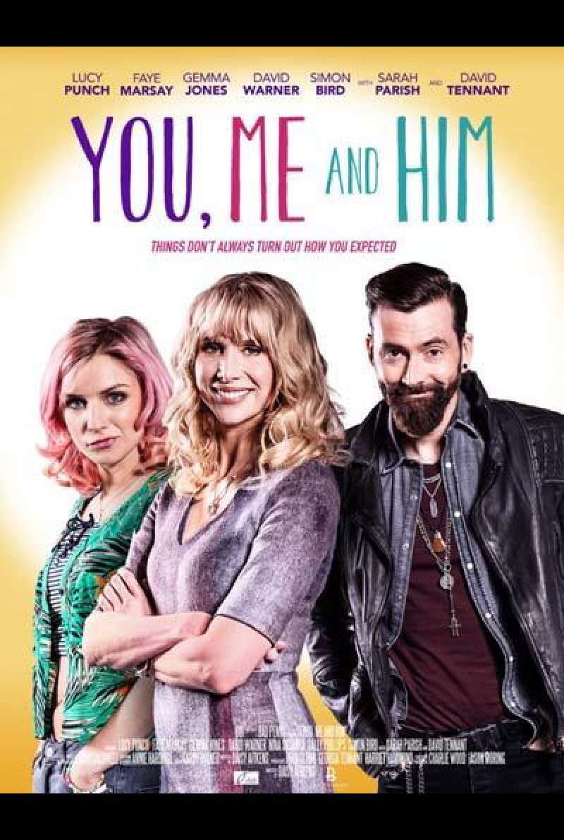 You, Me and Him von Daisy Aitkens - Filmplakat (GB)