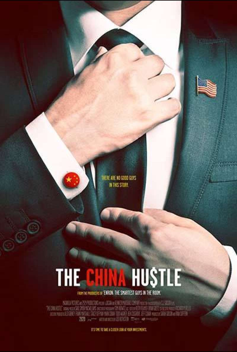 The China Hustle von Jed Rothstein - Filmplakat (US)