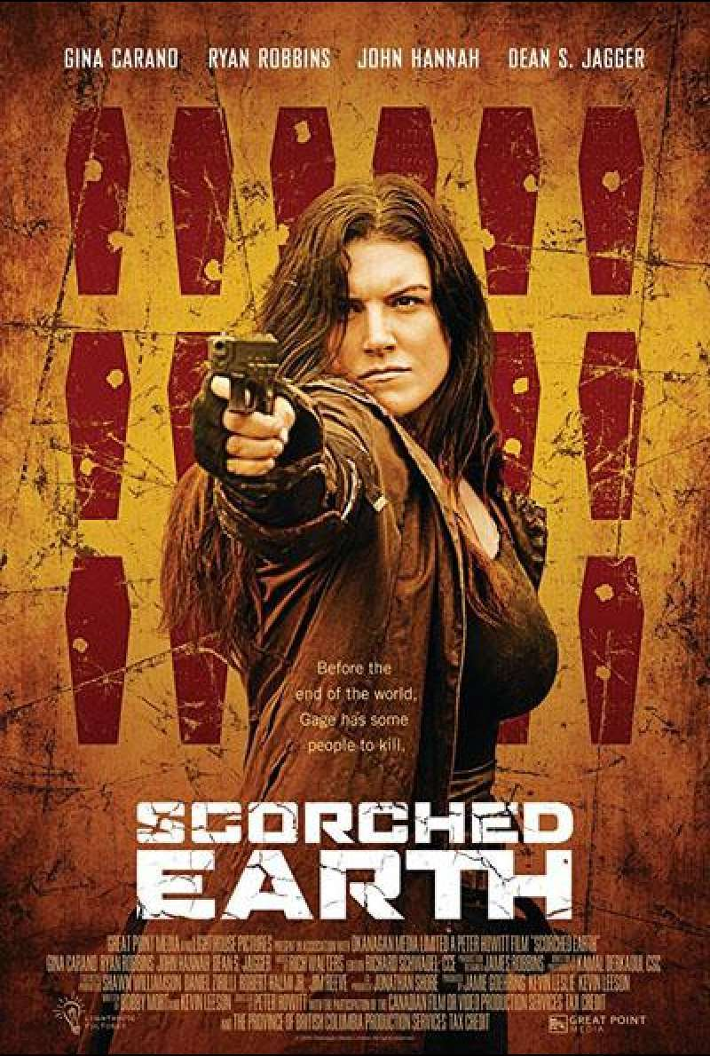 Scorched Earth von Peter Howitt - Filmplakat (US)