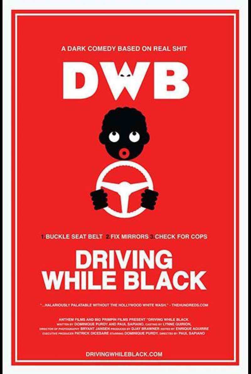 Driving While Black von Paul Sapiano - Filmplakat (US)