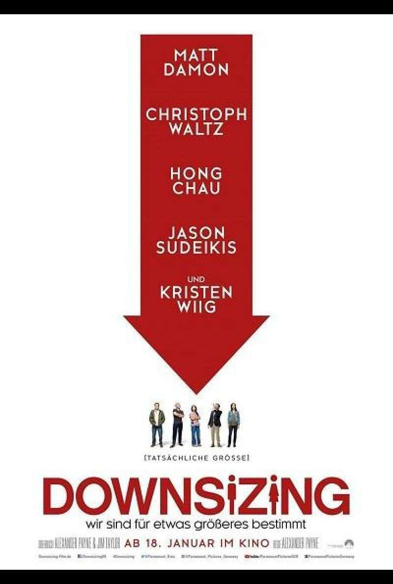 Downsizing - Filmplakat 2