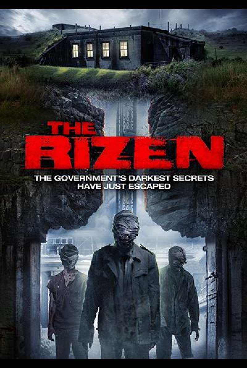 The Rizen von Matt Mitchell - Filmplakat (GB)