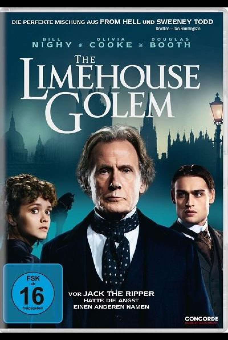 The Limehouse Golem - DVD-Cover