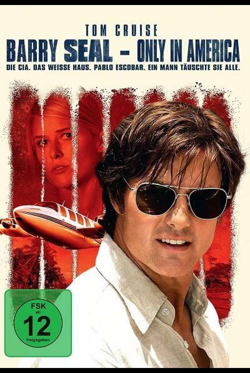 Barry Seal - Only in America - DVD-Cover
