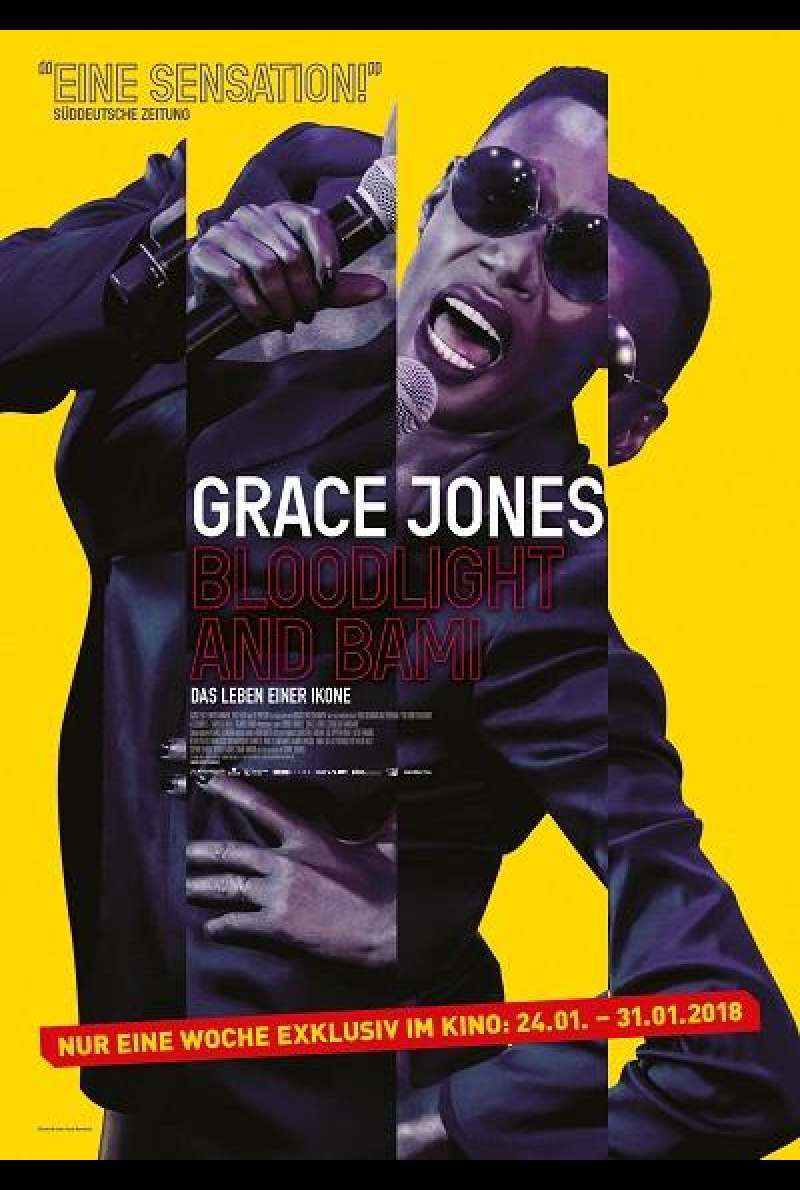 Grace Jones: Bloodlight and Bami - Filmplakat